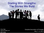 Start With Strengths - Canadian Association of Principals 2015