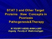 Stat3 &other target  proteins    in...