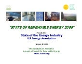 State Of The Energy Industry   Jan ...
