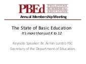 State of Education in the Philippin...