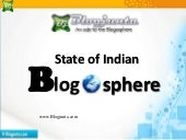 State of Indian Blogosphere