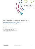 State of Social Business: Airline Industry July 2012