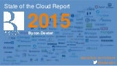 """State of the Cloud"" Report -- Bessemer Venture Partners (June 2015)"