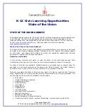 StateoftheUnion_ K-12LearningOpportunities