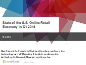 State of the US Online Retail Economy FY2014 Q1