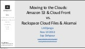 Rackspace & Akamai vs. Amazon & Clo...