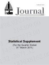 Statistical supplement june 2011   ...