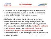 Status of ICTs in Philippine Basic ...