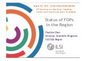 Status of FOPs in the Asian Region_2015