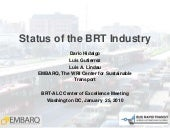Status of the BRT Industry