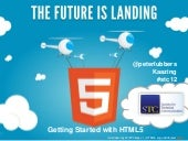Getting Started with HTML5 in Tech ...