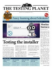 The Testing Planet Issue 4