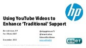 STC Live Webinar: Using YouTube to ...