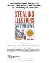 Stealing elections revised and upda...