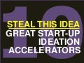 Steal this idea - 10 Great Start-up Ideation Accelerators