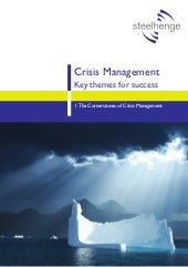 The Cornerstones of Crisis Manageme...