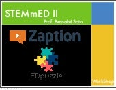 Taller EDpuzzle y Zaption
