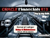 Oracle Financials R12 - GL STEP 1 - Chart Of Accounts