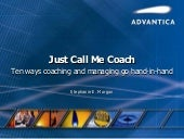 Just Call Me Coach: Ten Ways Coach...