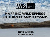 mapping wilderness in Europe