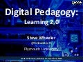 Steve Wheeler - Digital Pedagogy: Learning 2.0 - Keynote Speaker LILAC 2013