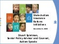 State Autism Insurance Reform Initiatives