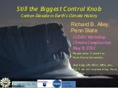 Still the Biggest Control Knob: Carbon Dioxide in Earth's Climate History