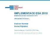 Implementace ESA 2010
