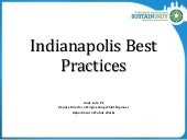 Indianapolis Best Practices Andy Lutz