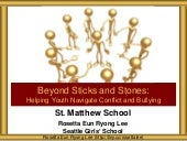 St Matthew School Conflict and Bullying