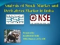 Stock and derivatives market in india