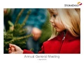 Stora Enso Annual General Meeting, ...
