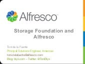 Storage and Alfresco
