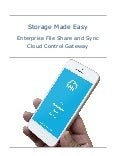 Storage Made Easy Enterprise File Share and Sync White Paper
