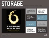 6 Hot Storage Techs for 2015