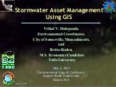 Stormwater Asset Management Using G...