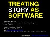 Treating Story as Software - lectur...
