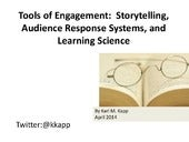 Tools of Engagement:  Storytelling,...