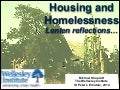 Housing and Homelessness: Lenten Reflections