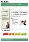 Stp leaflet. basic sales training   april 2012