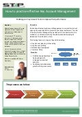 Stp leaflet. key account management   july 2011