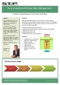 Stp leaflet. sales management   july 2011