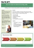 Stp leaflet. sales training advanced   july 2011