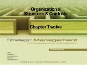 Strategic Management Ch12