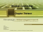 Strategic Management Ch13