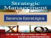 STRATEGIC MANAGEMENT, GERENCIA ESTR...