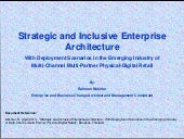 Strategic and Inclusive Enterprise ...