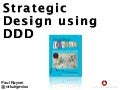 Strategic design using ddd