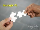 Strategic fit