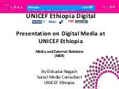 UNICEF Ethiopia Digital Media Strat...